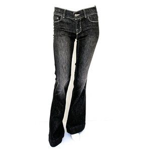 NWT J Brand Lovestory Ash Low Rise Tall Flare Jean